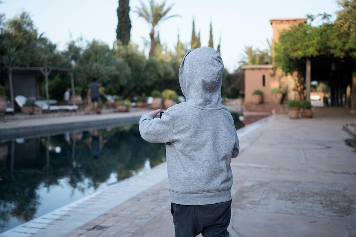 Marrakesch mit Kind (c) Marlene Mayer