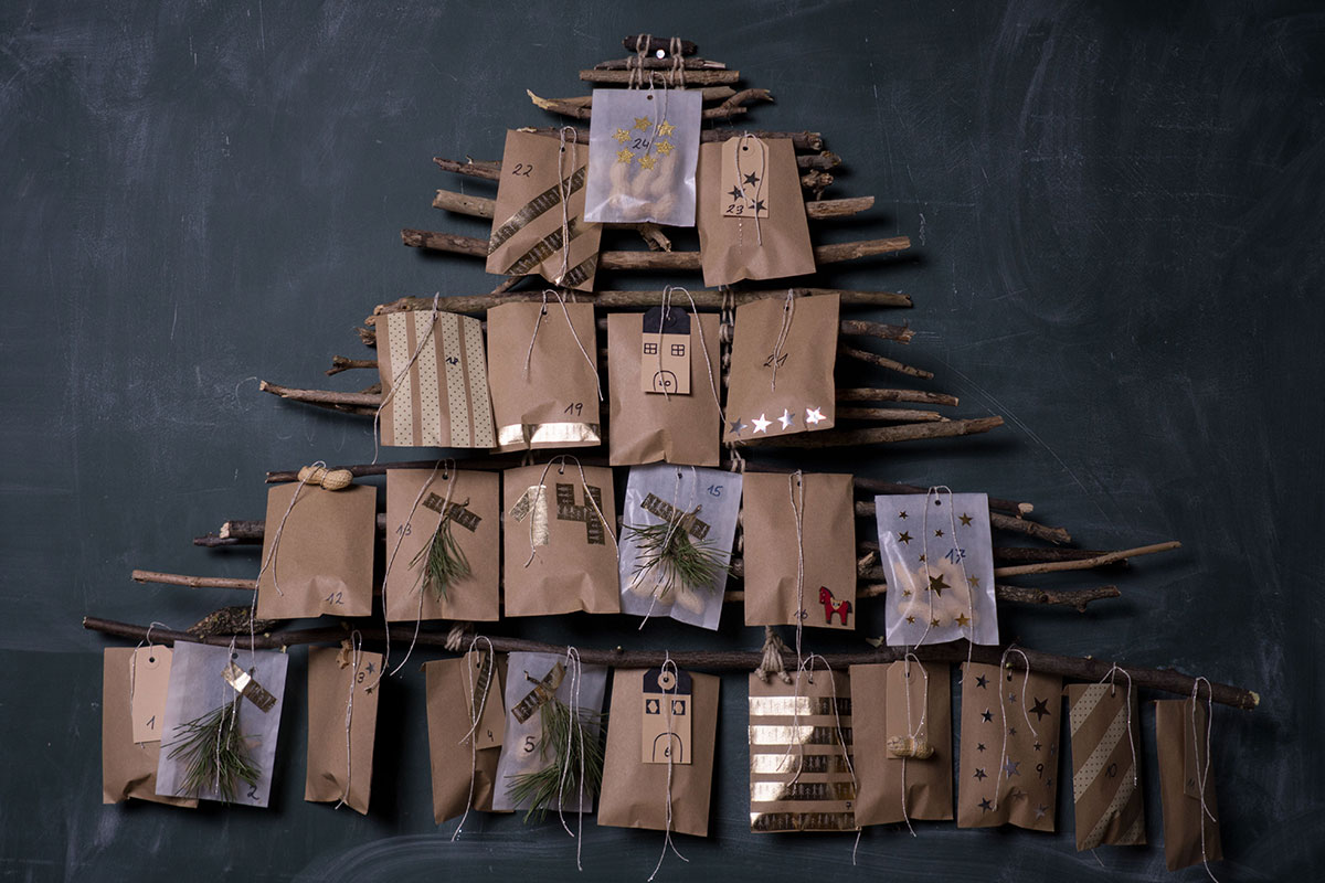 Adventkalender selbermachen